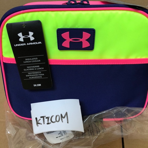 New Under Armour Youth girl lunch box by Thermos 8f2bd5f526fef